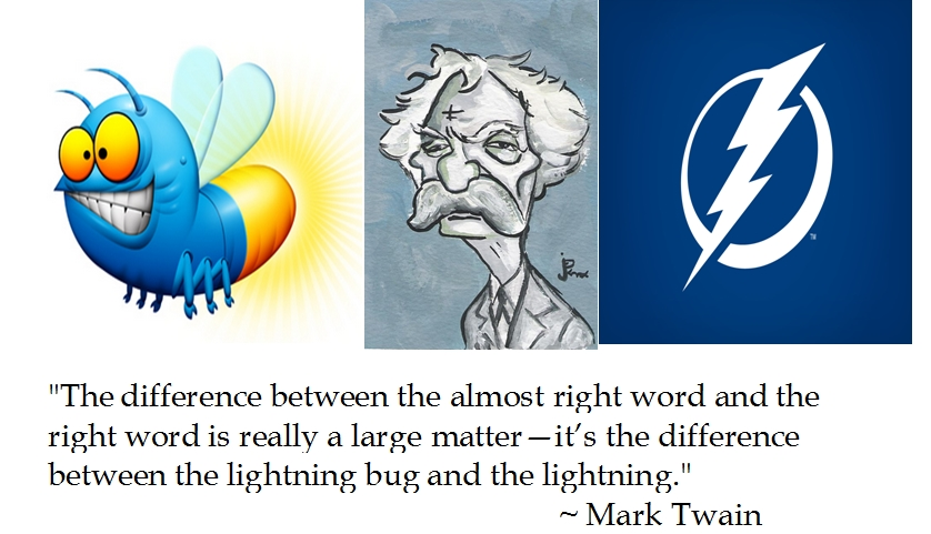Mark Twain Lightning Bug