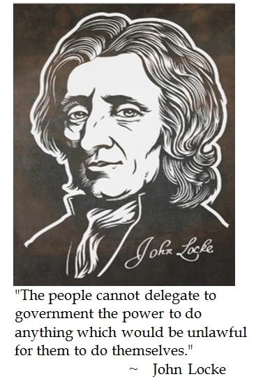 John Locke Declaration Of Independence Cartoon