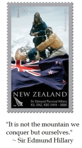 Sir Edmund Hillary Everest  Stamp