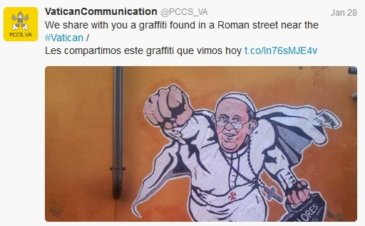 Vatican Super Pope Twitter