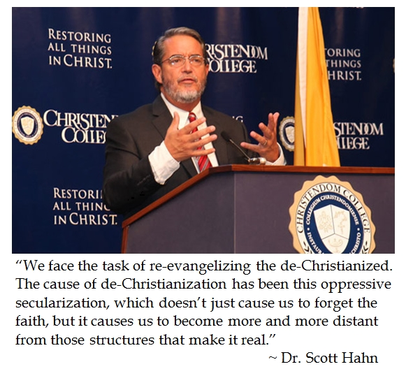 Scott Hahn New Evangelization