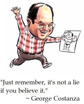Image result for donald trump as george costanza cartoons