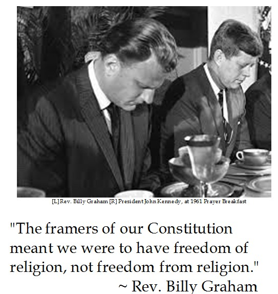 Billy Graham on Religious Freedom