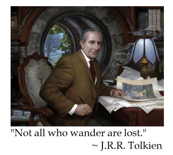 J.R.R. Tolkien on Life