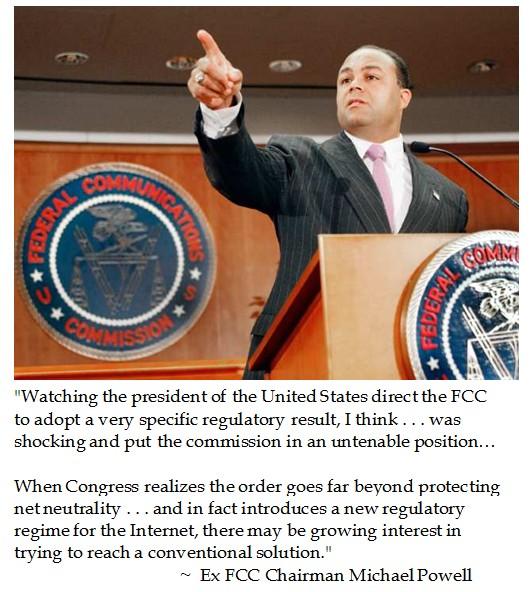 Michael Powell on FCC Overreach