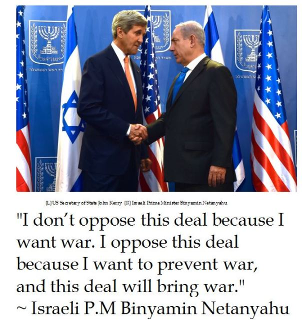 Netanyahu on the Iran Nuke Deal