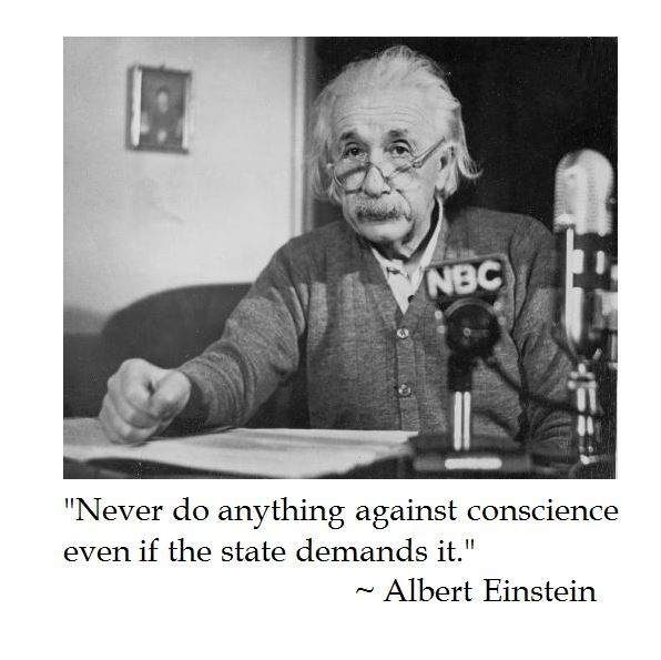 Albert Einstein on Conscience