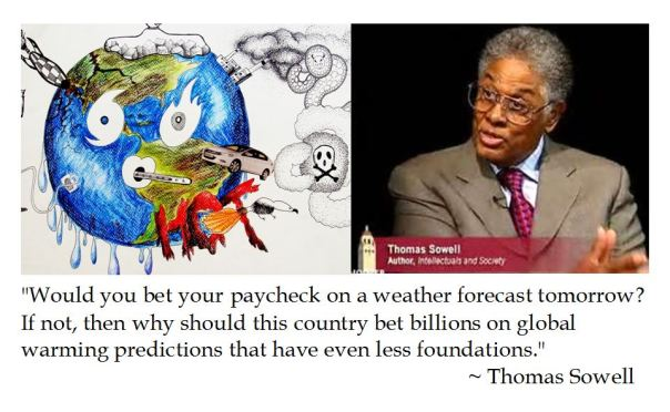 Thomas Sowell on Global Warming