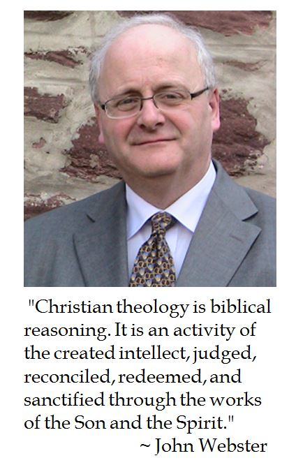 John Webster on Christian Theology