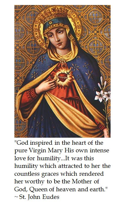 St. John Eudes on the Immaculate Heart of Mary