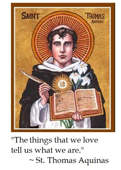 St. Thomas Aquinas on Love