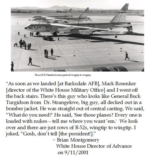 Bush White House Advance Director Brian Montgomery Recalls 9/11 at Barksdale AFB