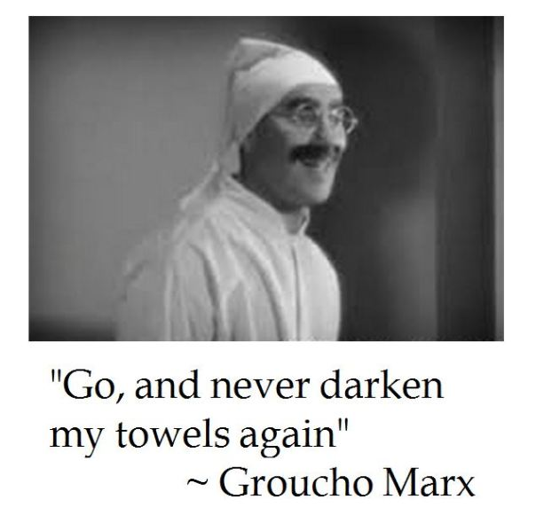 Groucho Marx on Life