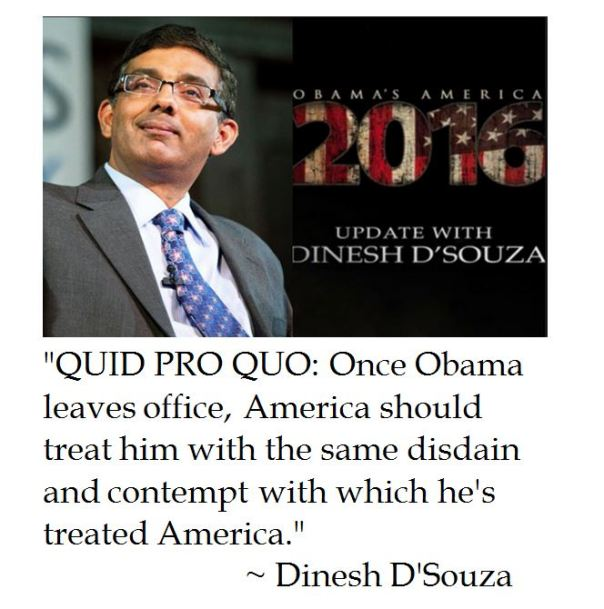 Dinesh D'Souza on a Post President Obama
