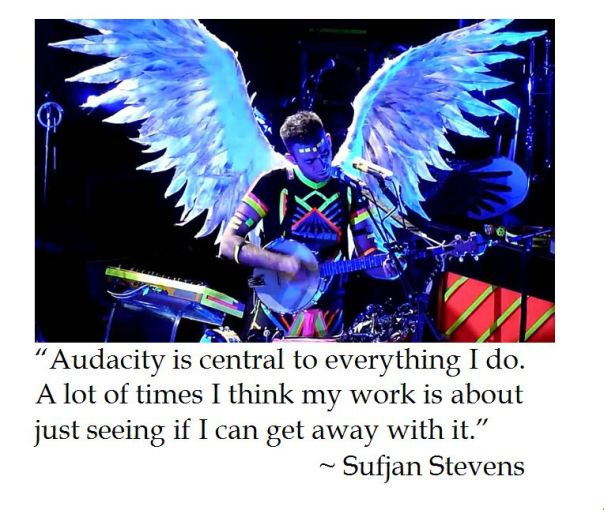 Sufjan Stevens on Audacity