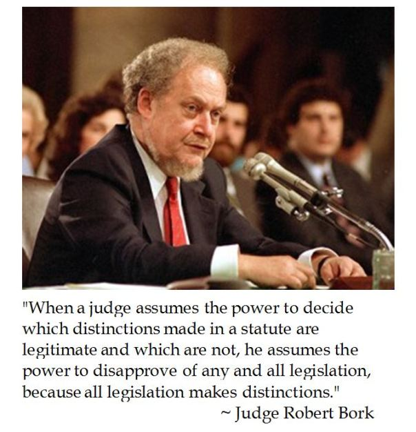 Judge Robert Bork on Jurisprudence