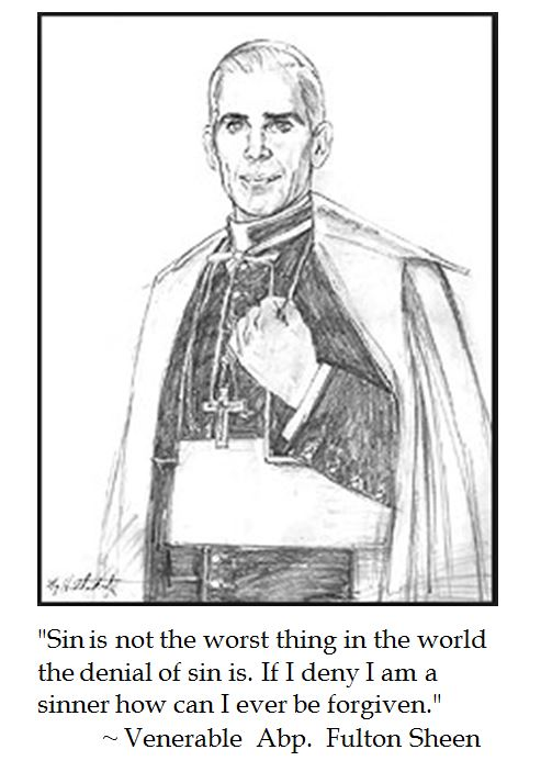 Fulton Sheen on the Denial of Sin