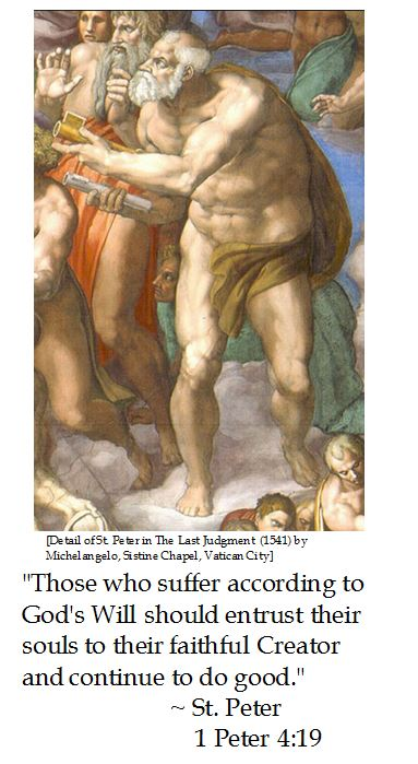 St. Peter on God's Will and Suffering