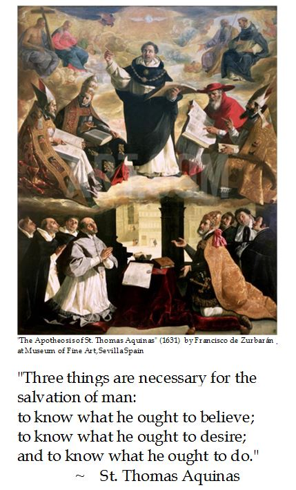St. Thomas Aquinas on Salvation