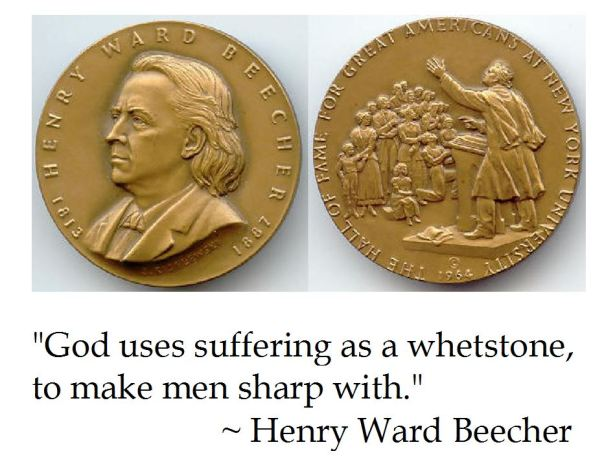 Henry Ward Beecher on Suffering