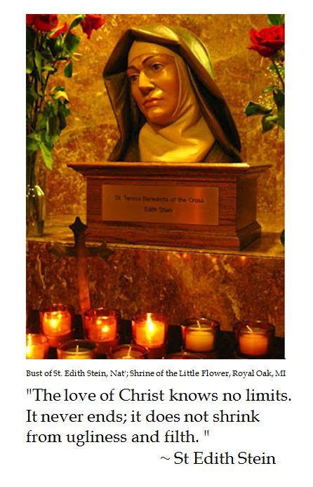 St. Edith Stein on the Love of Christ