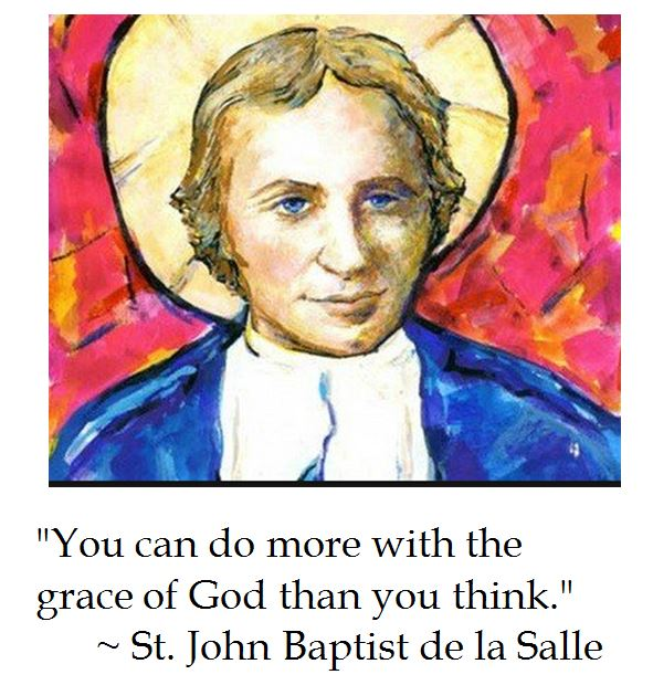 St. John Baptist de la Salle on the Grace of God