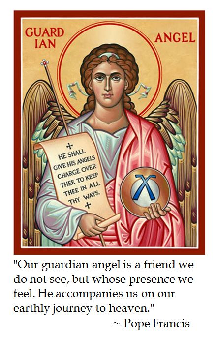 Pope Francis on Guardian Angels