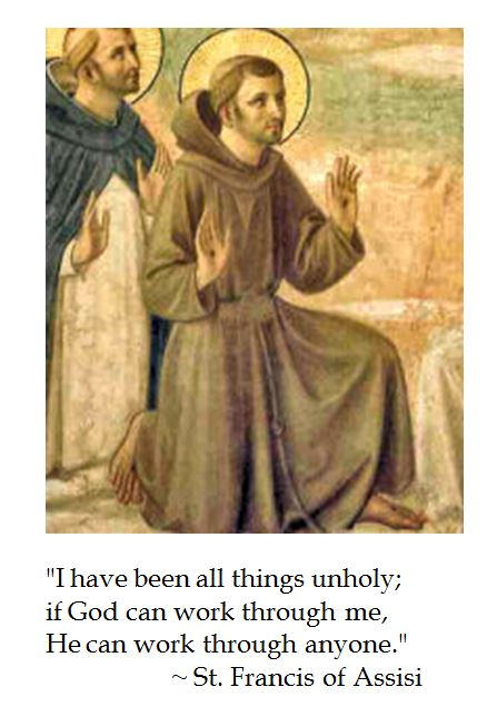 St. Francis Assisi on the Works of God