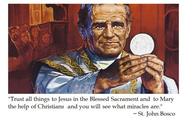 St. John Bosco on Trust
