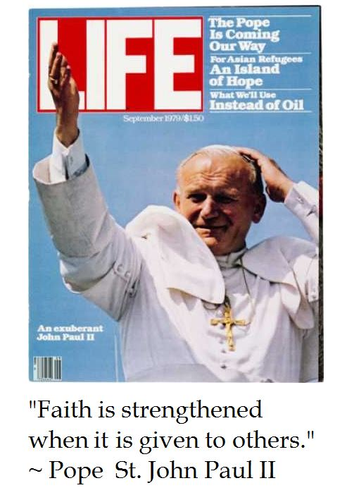 Pope St. John Paul II on Faith