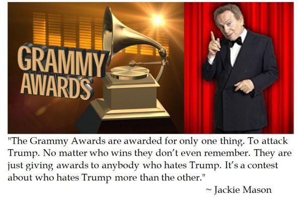 Jackie Mason on the Grammys